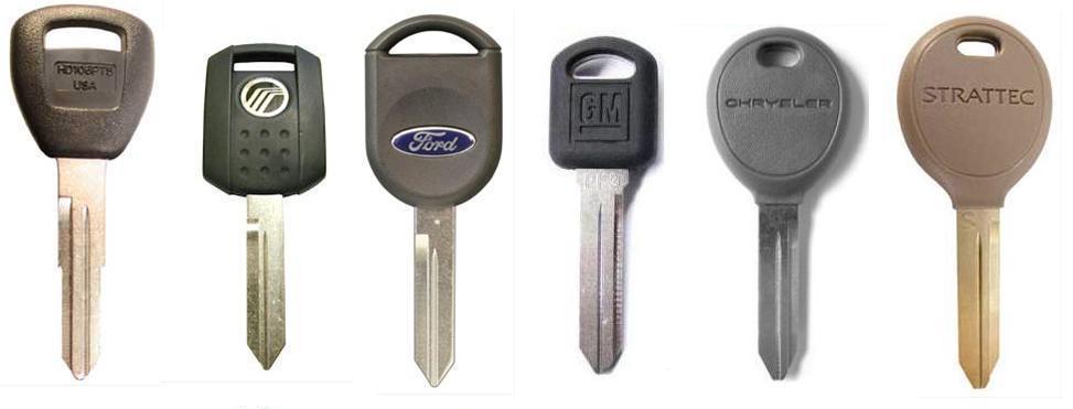 transponder car keys
